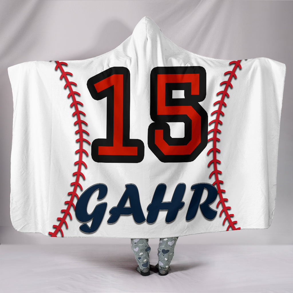 draft personalized hooded blanket 4453