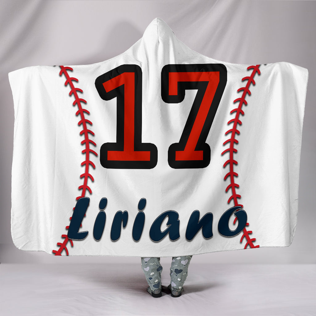 draft personalized hooded blanket 5138