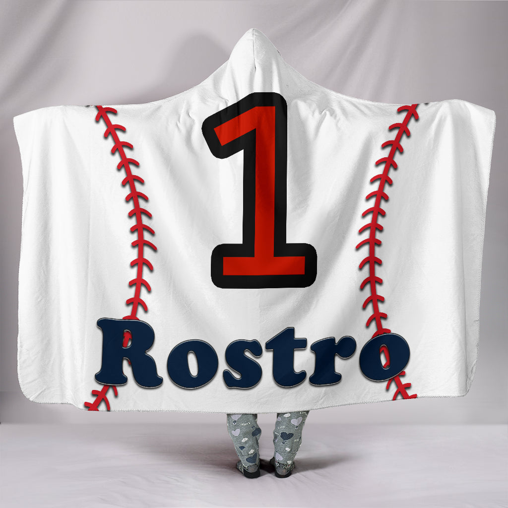 draft personalized hooded blanket 6062