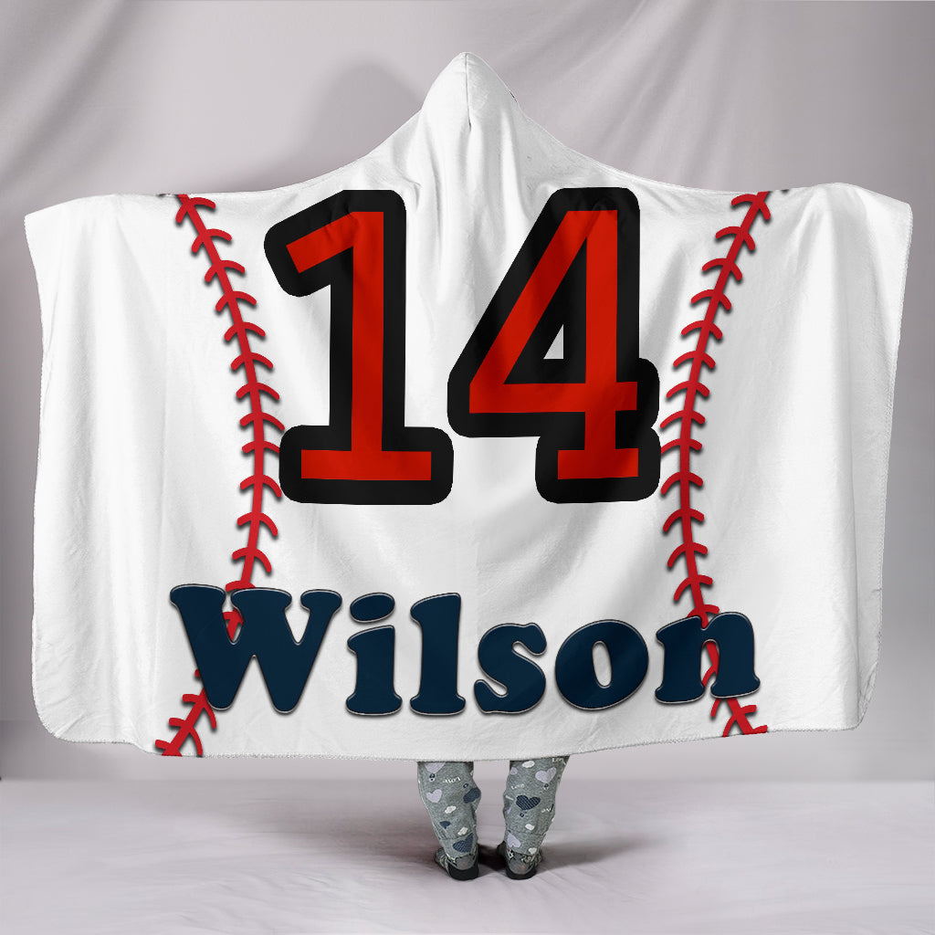 draft personalized hooded blanket 6419