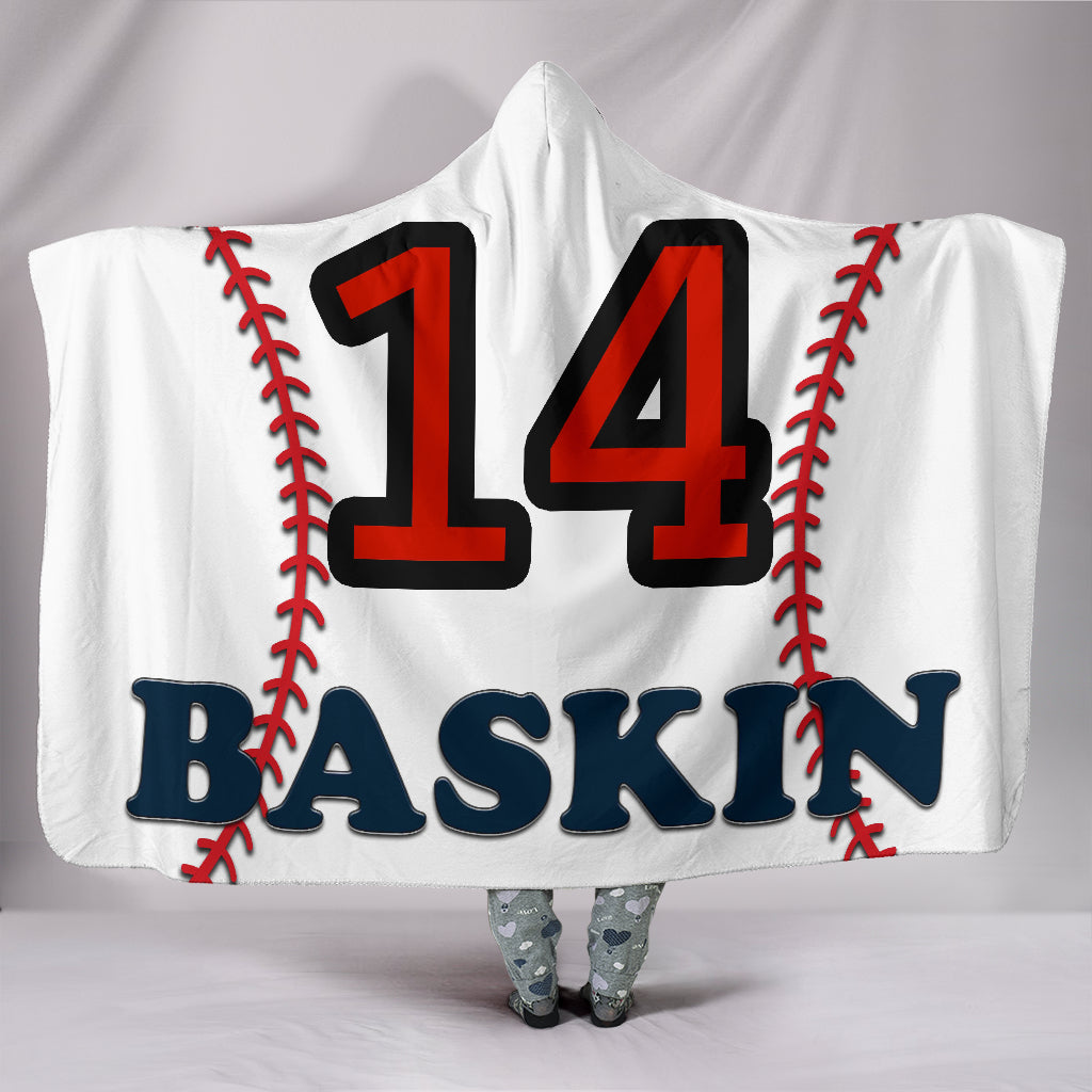 draft personalized hooded blanket 6786