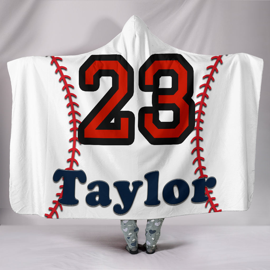 draft personalized hooded blanket 5894