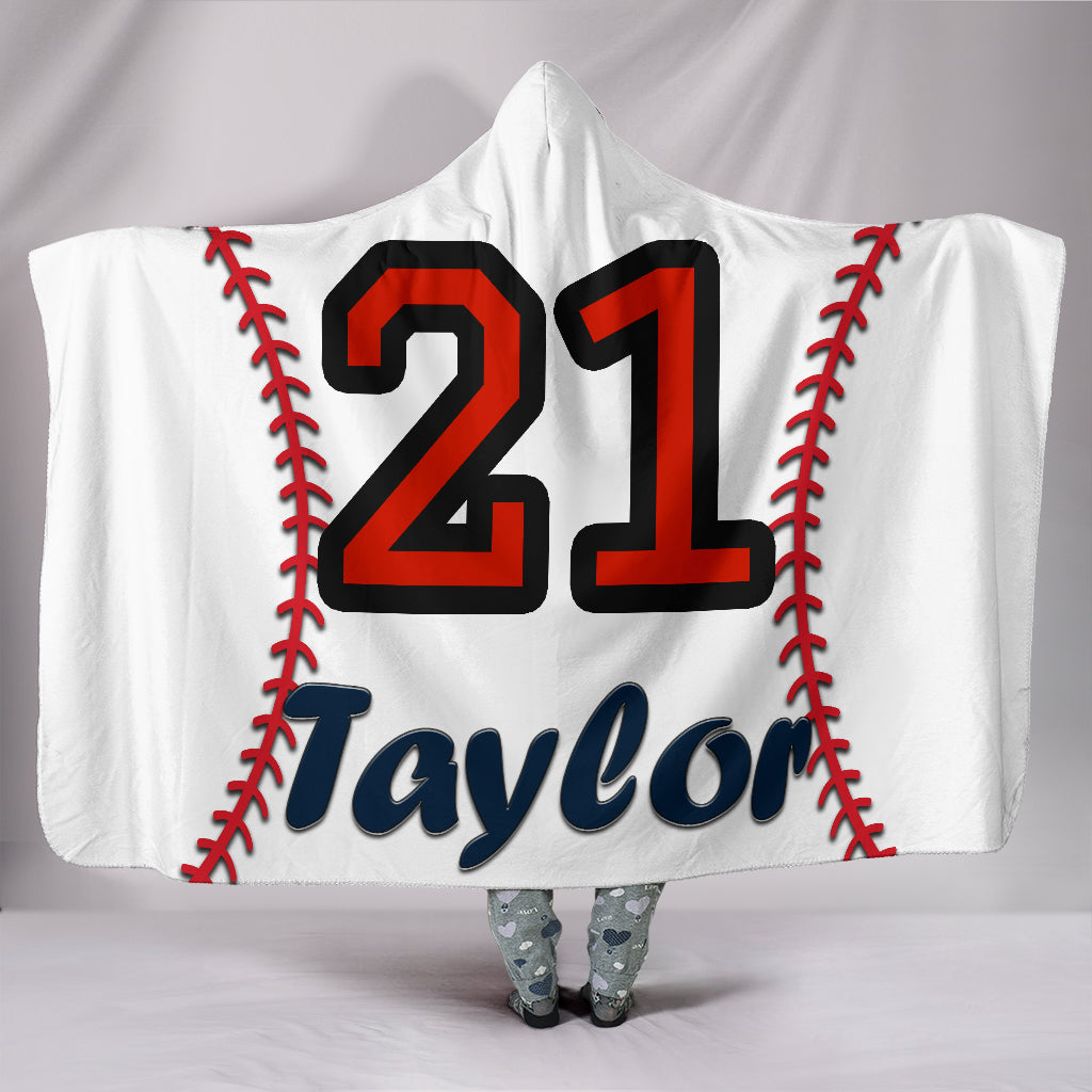 draft personalized hooded blanket 4265