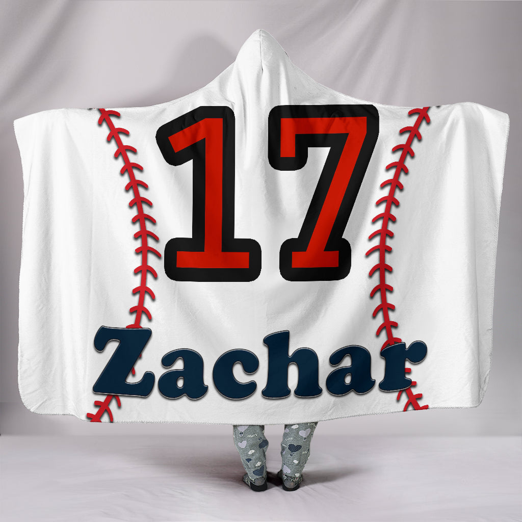 draft personalized hooded blanket 6838