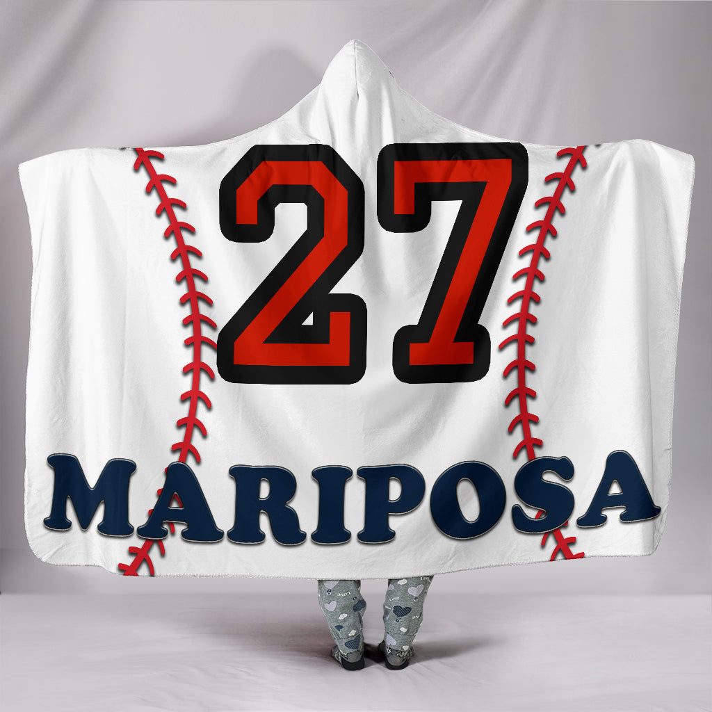 draft personalized hooded blanket 6230