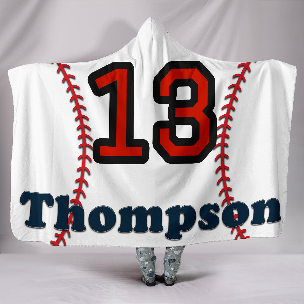 draft personalized hooded blanket 6783