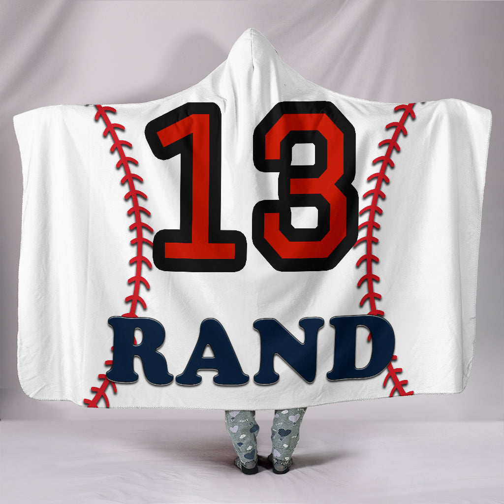 draft personalized hooded blanket 6238