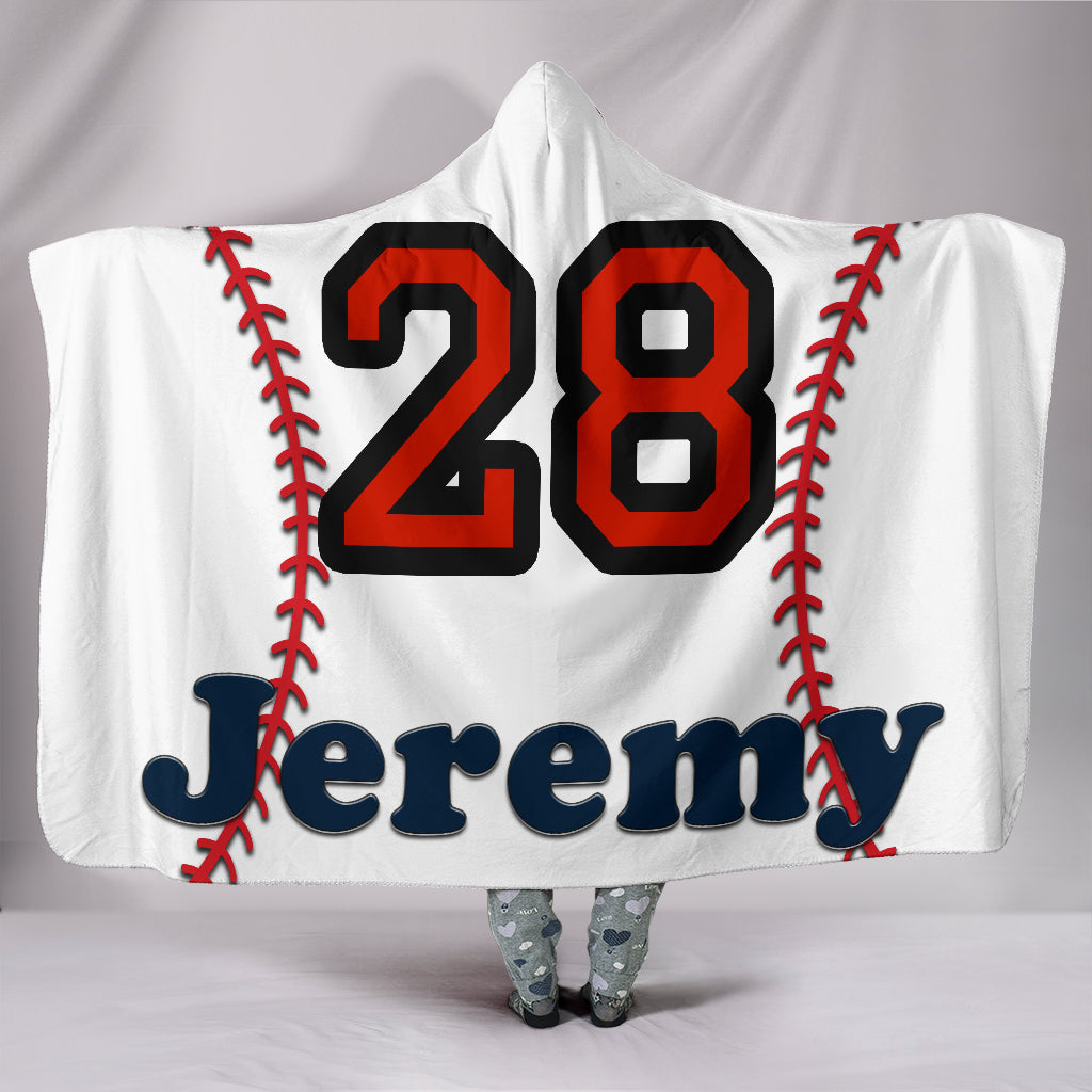 draft personalized hooded blanket 5502