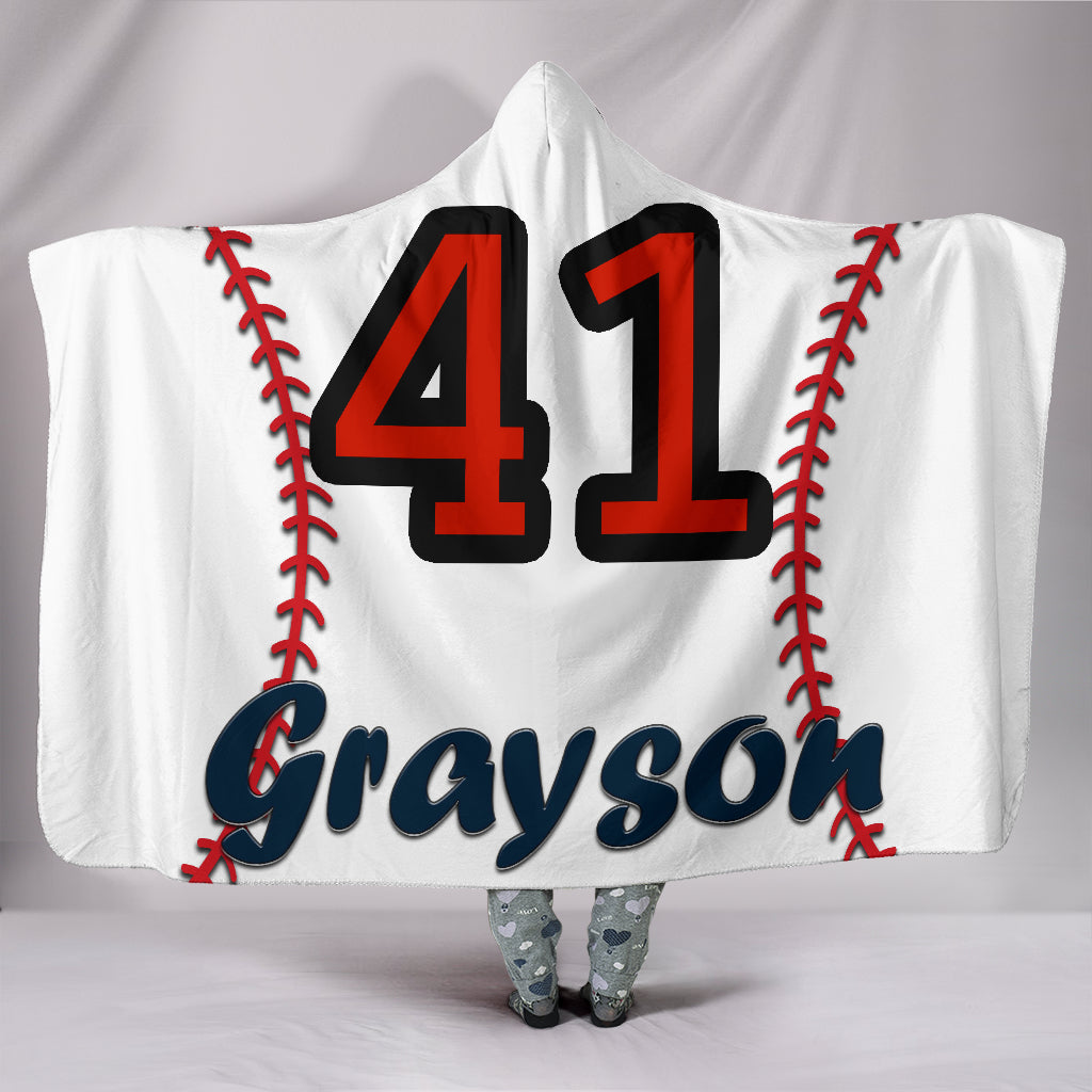 draft personalized hooded blanket 5164