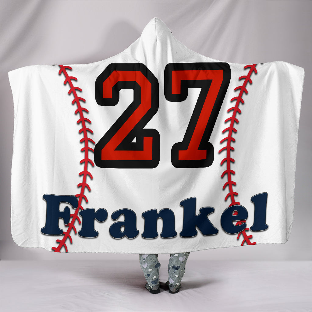 draft personalized hooded blanket 6236