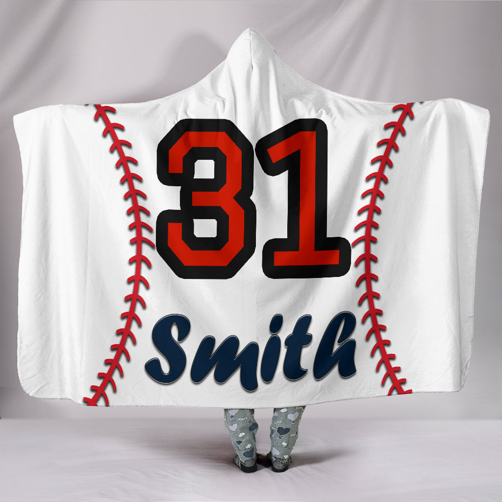 draft personalized hooded blanket 4492