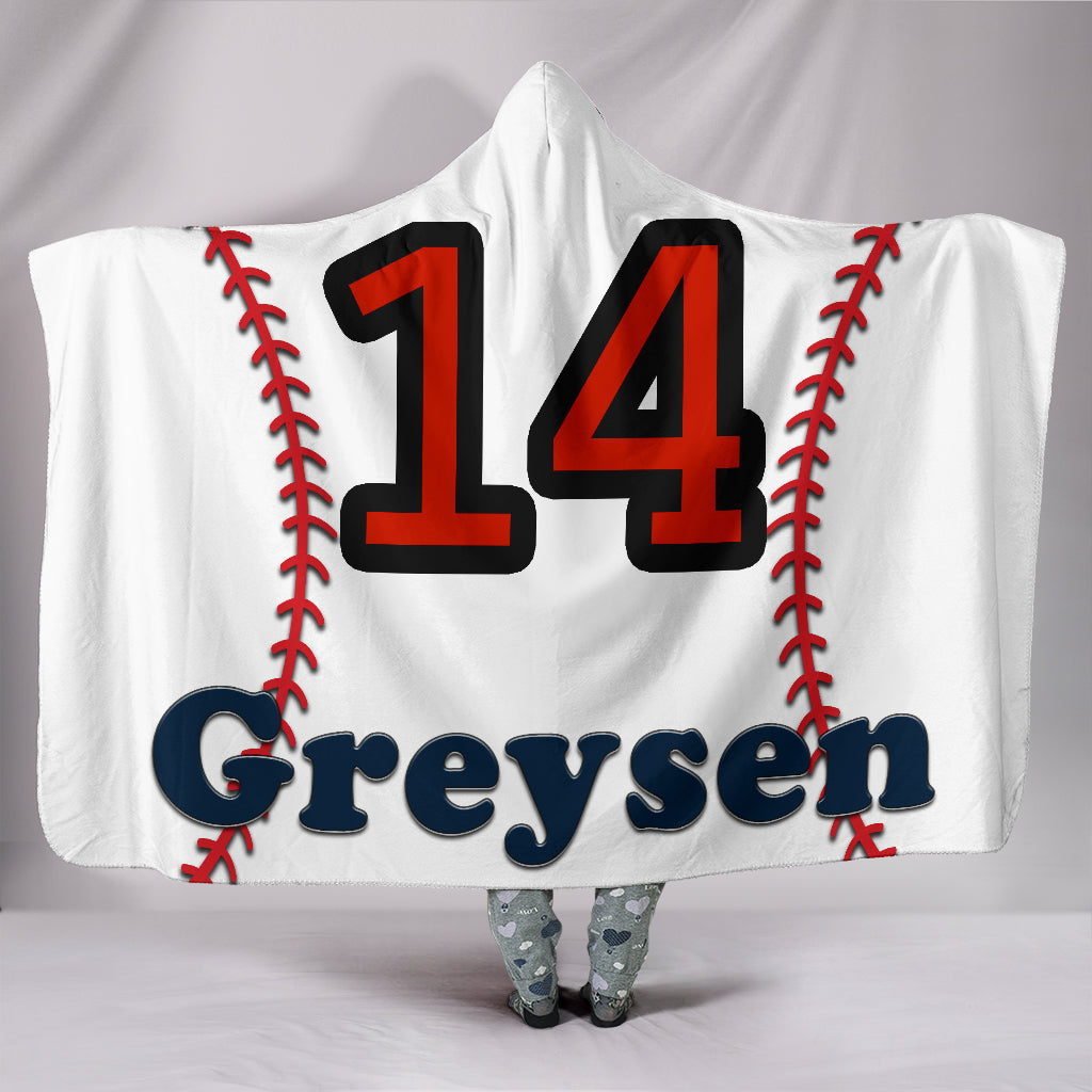 draft personalized hooded blanket 5433