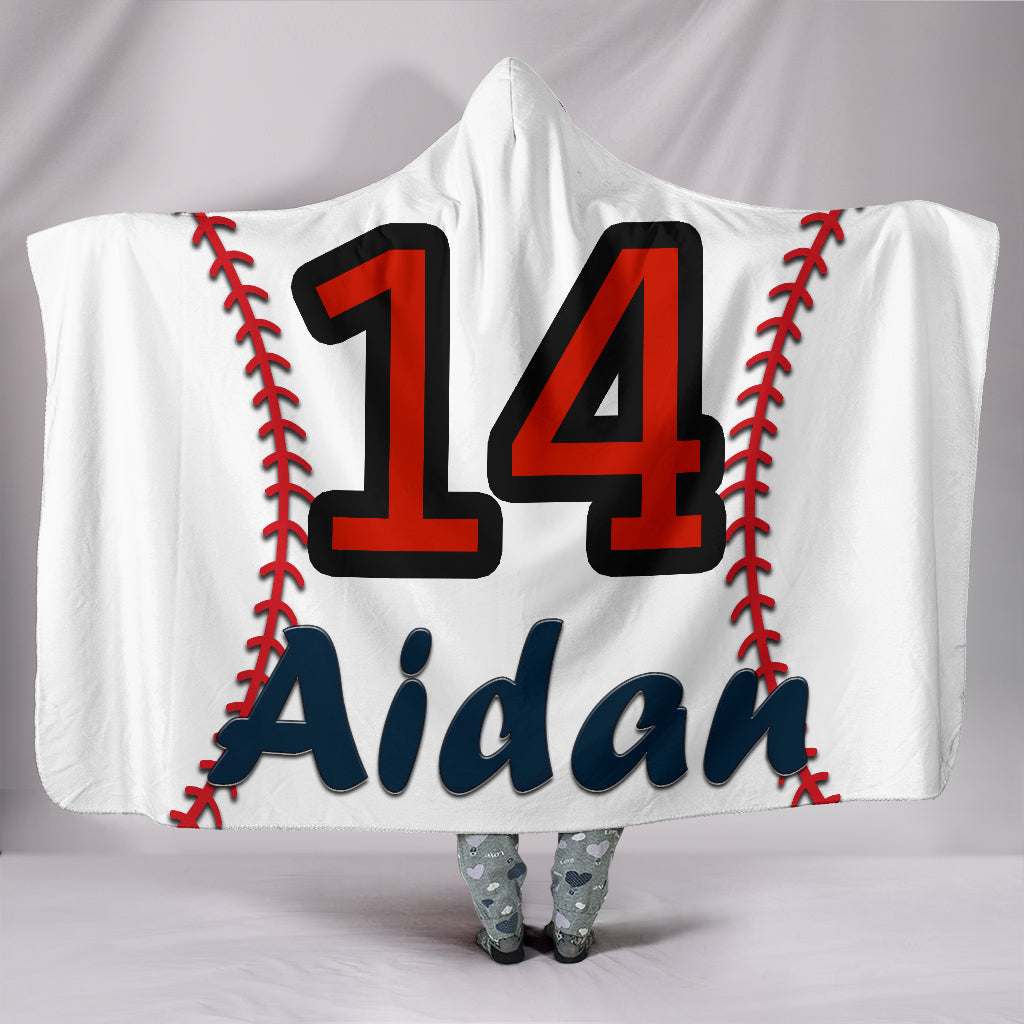 draft personalized hooded blanket 4705