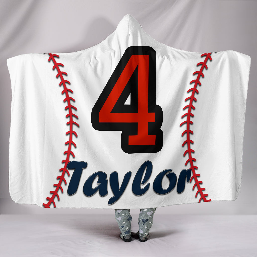 draft personalized hooded blanket 5494