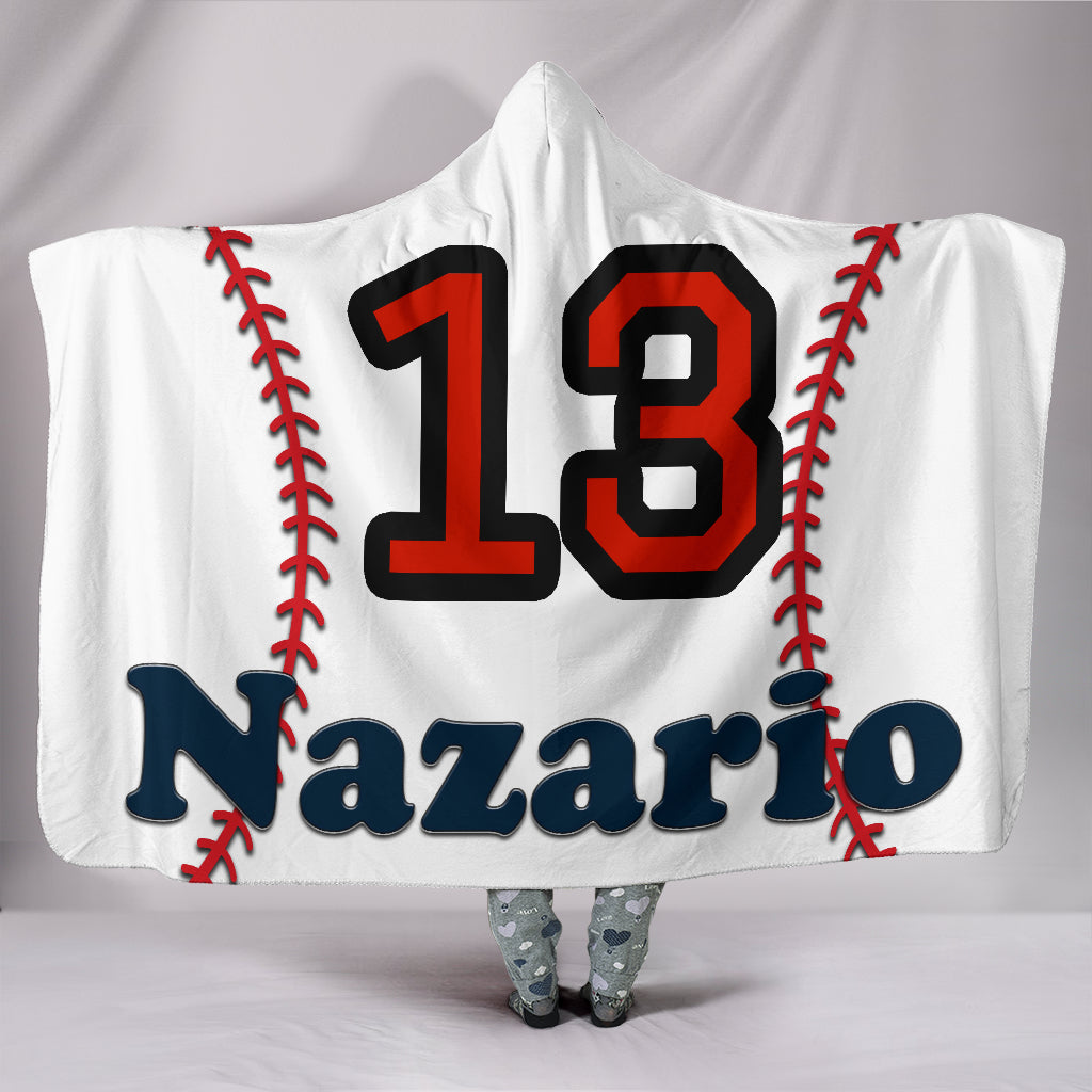 draft personalized hooded blanket 4891
