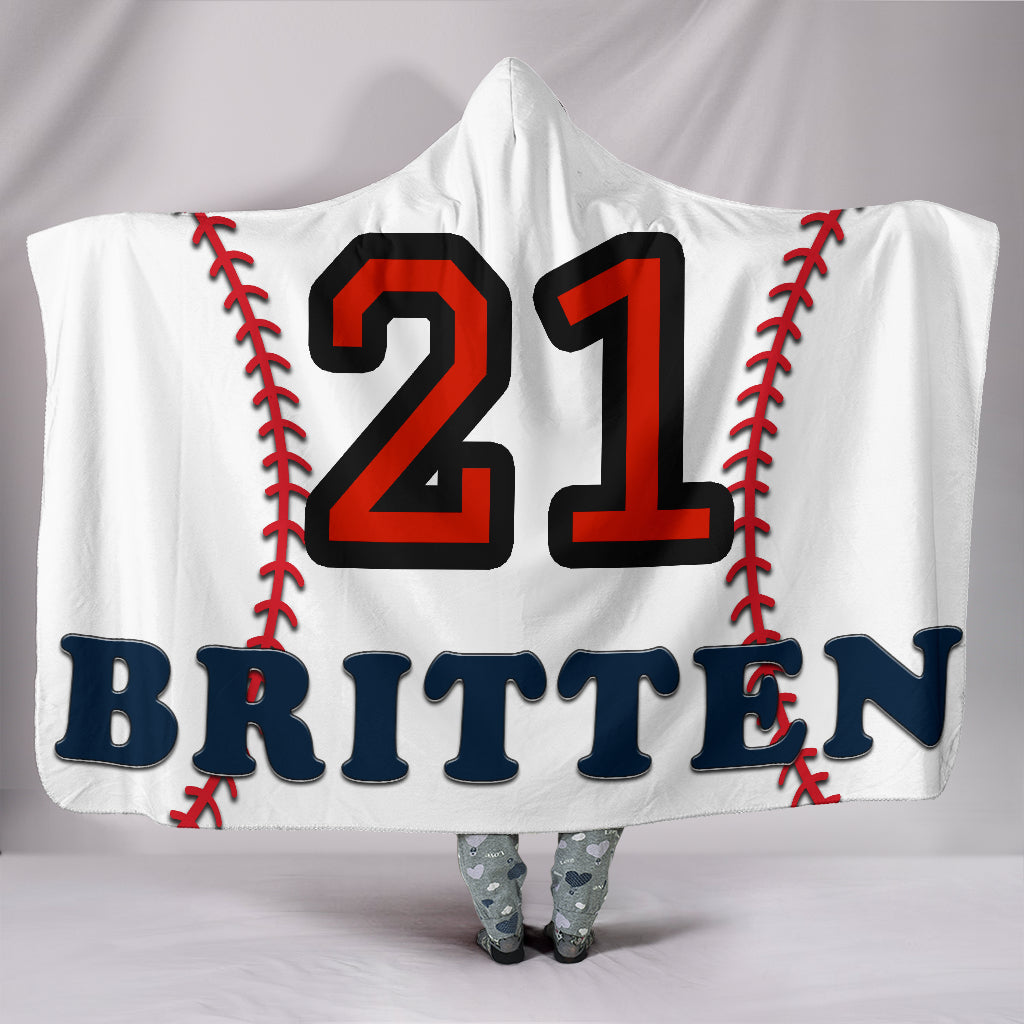 draft personalized hooded blanket 4478