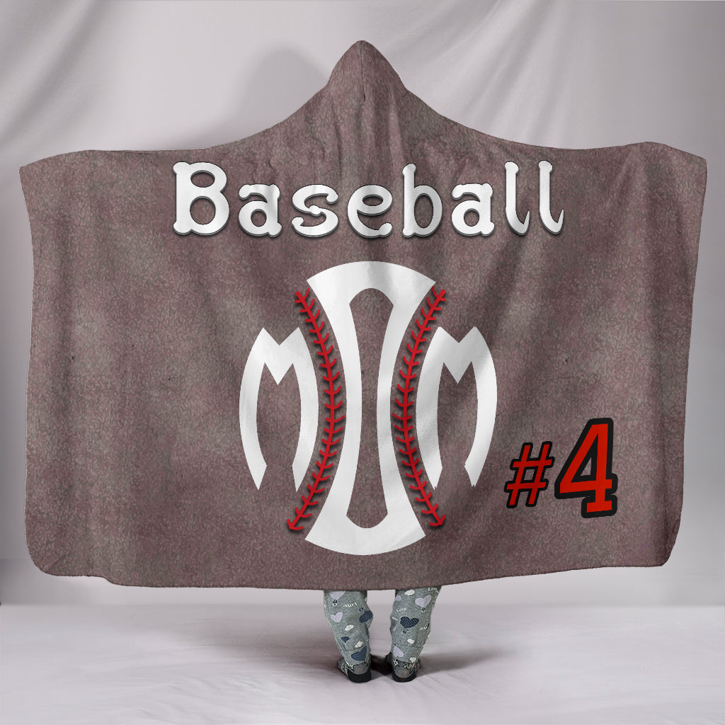 draft personalized hooded blanket 6497