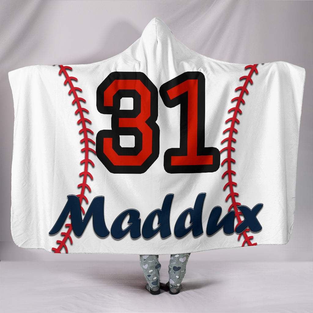 draft personalized hooded blanket 4394
