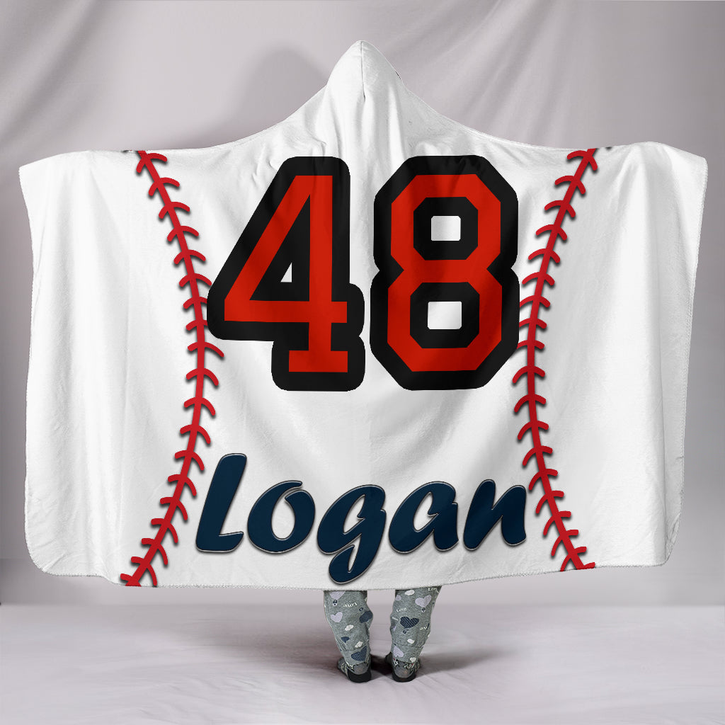draft personalized hooded blanket 5102