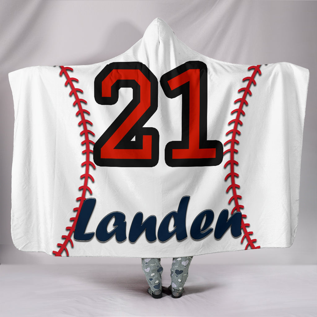 draft personalized hooded blanket 5227