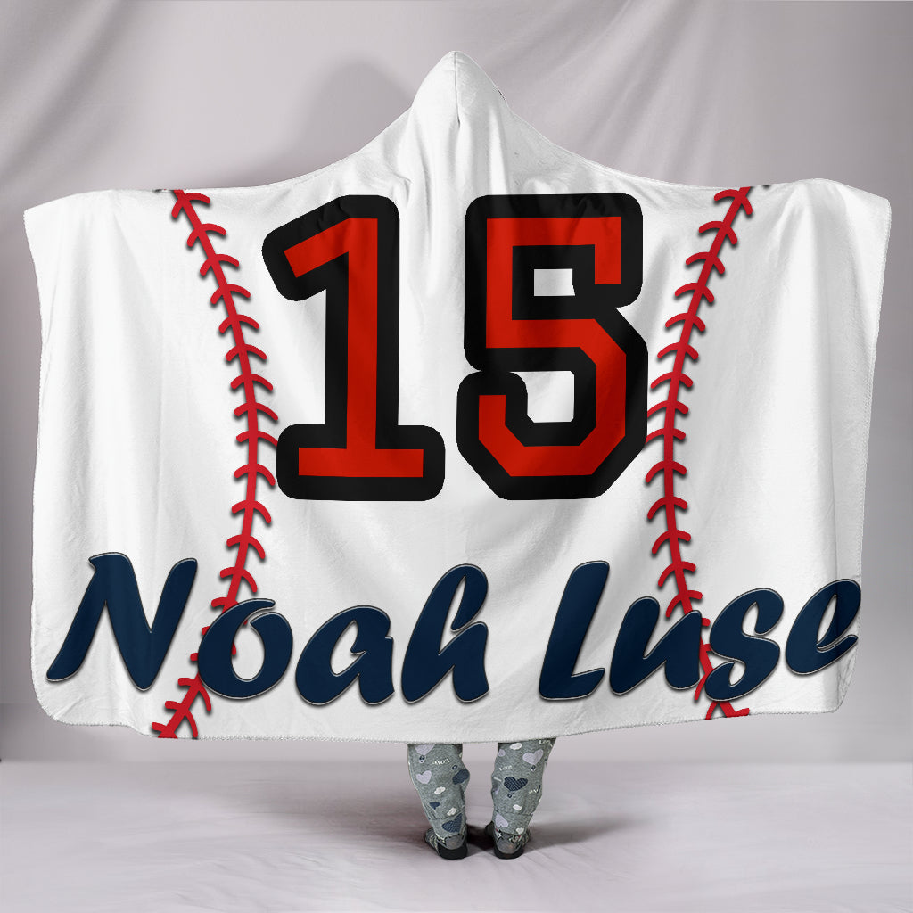 draft personalized hooded blanket 4603