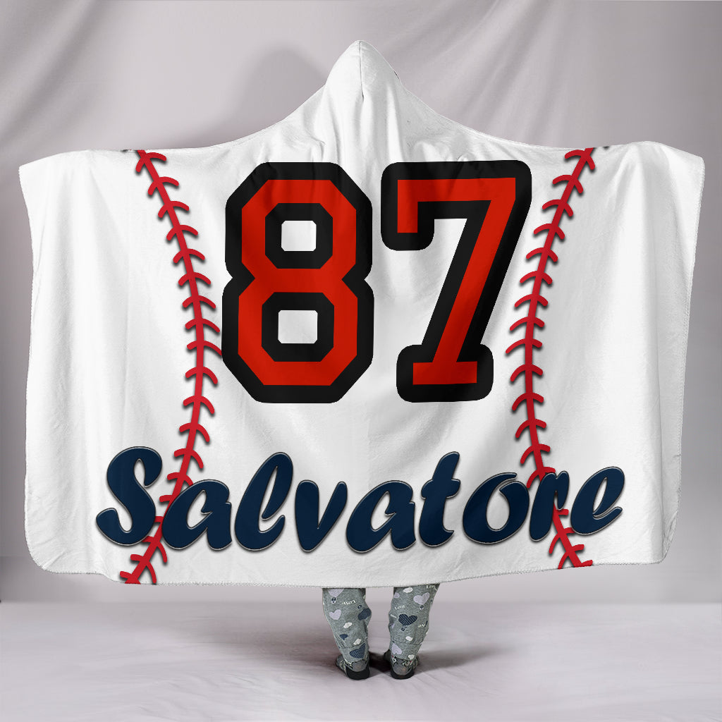 draft personalized hooded blanket 4246