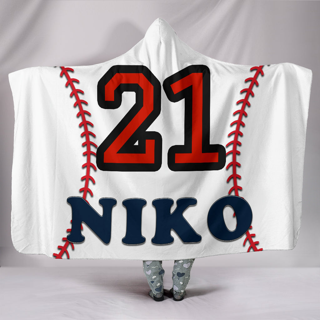 draft personalized hooded blanket 5291