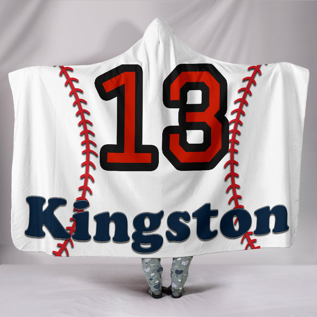 draft personalized hooded blanket 5582