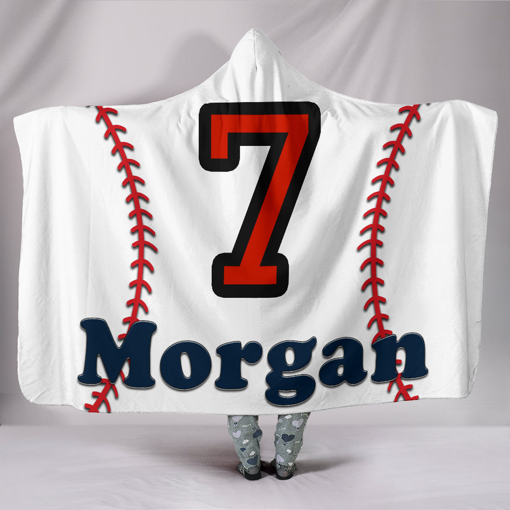 draft personalized hooded blanket 5781