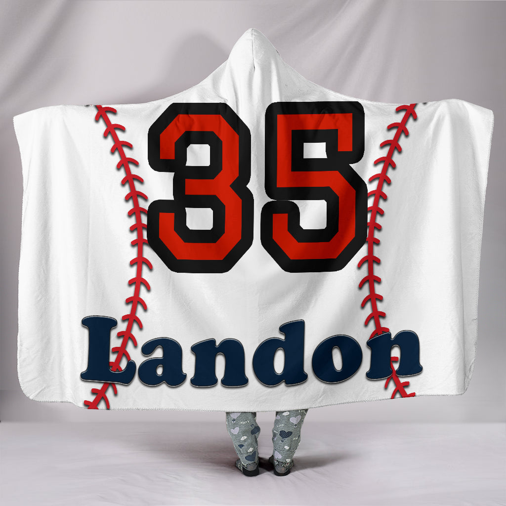 draft personalized hooded blanket 5583