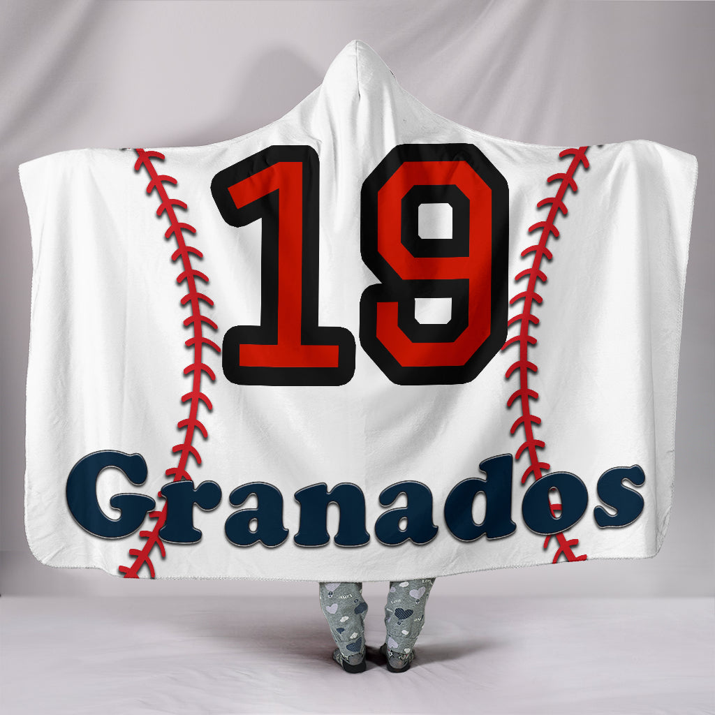 draft personalized hooded blanket 6919