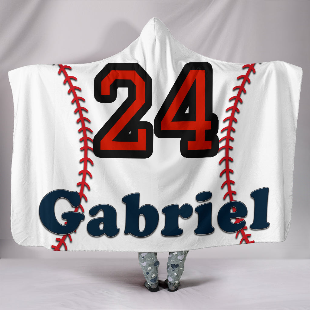 draft personalized hooded blanket 5054
