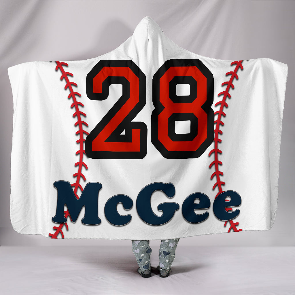 draft personalized hooded blanket 6790