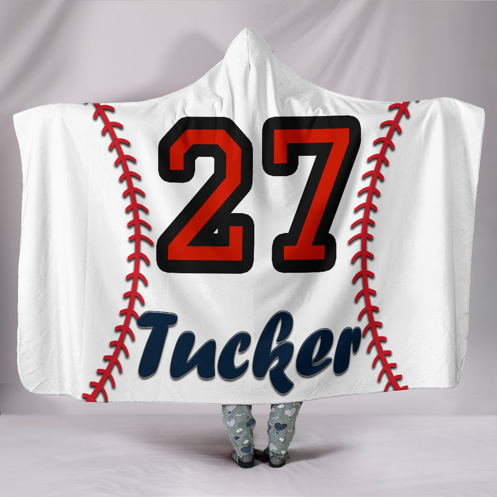 draft personalized hooded blanket 4296