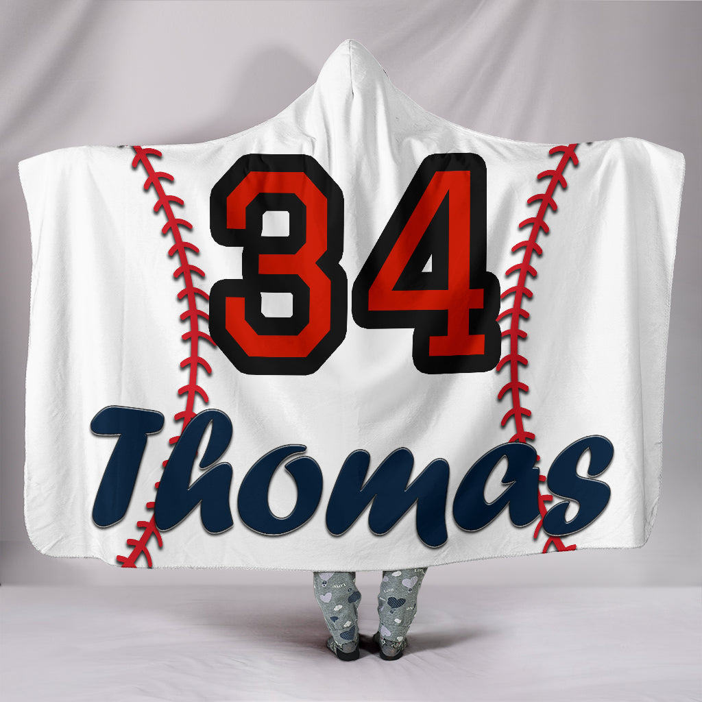 draft personalized hooded blanket 4519