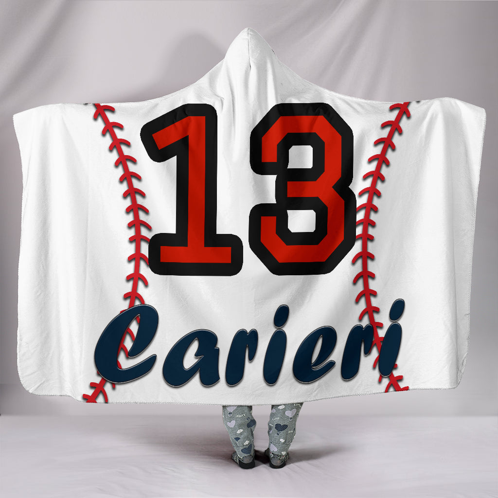 draft personalized hooded blanket 4696