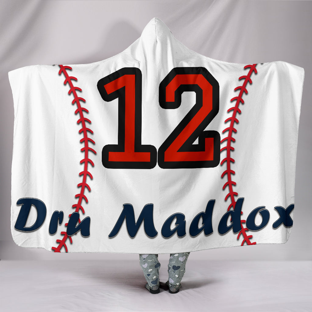 draft personalized hooded blanket 4381