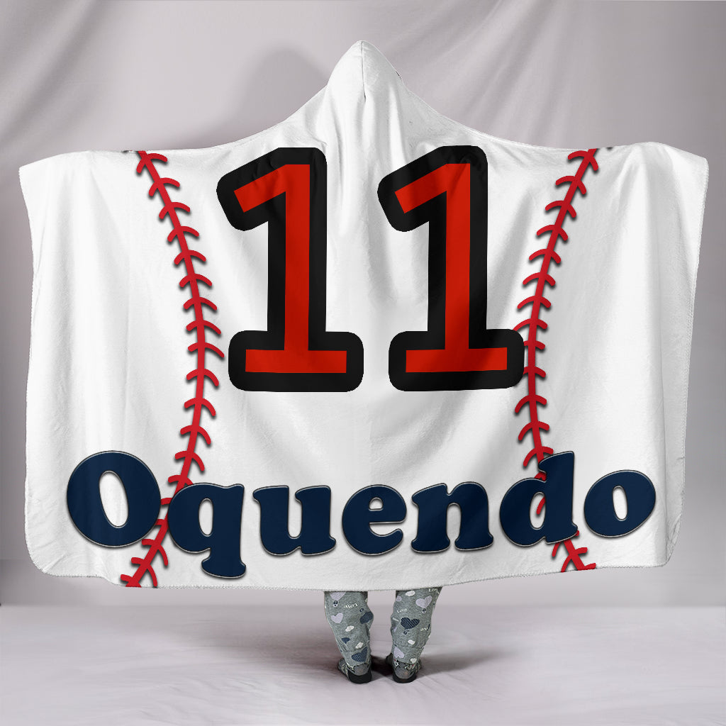 draft personalized hooded blanket 5750