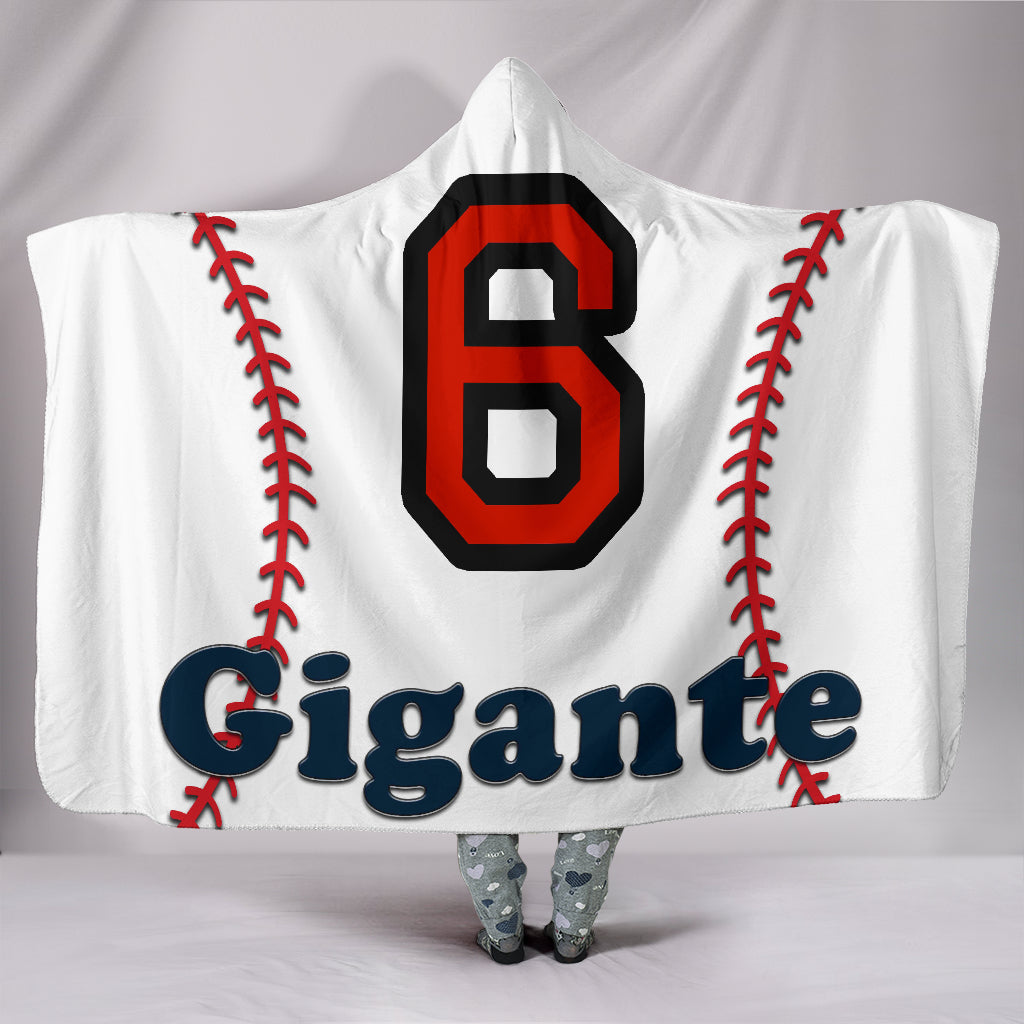 draft personalized hooded blanket 6622