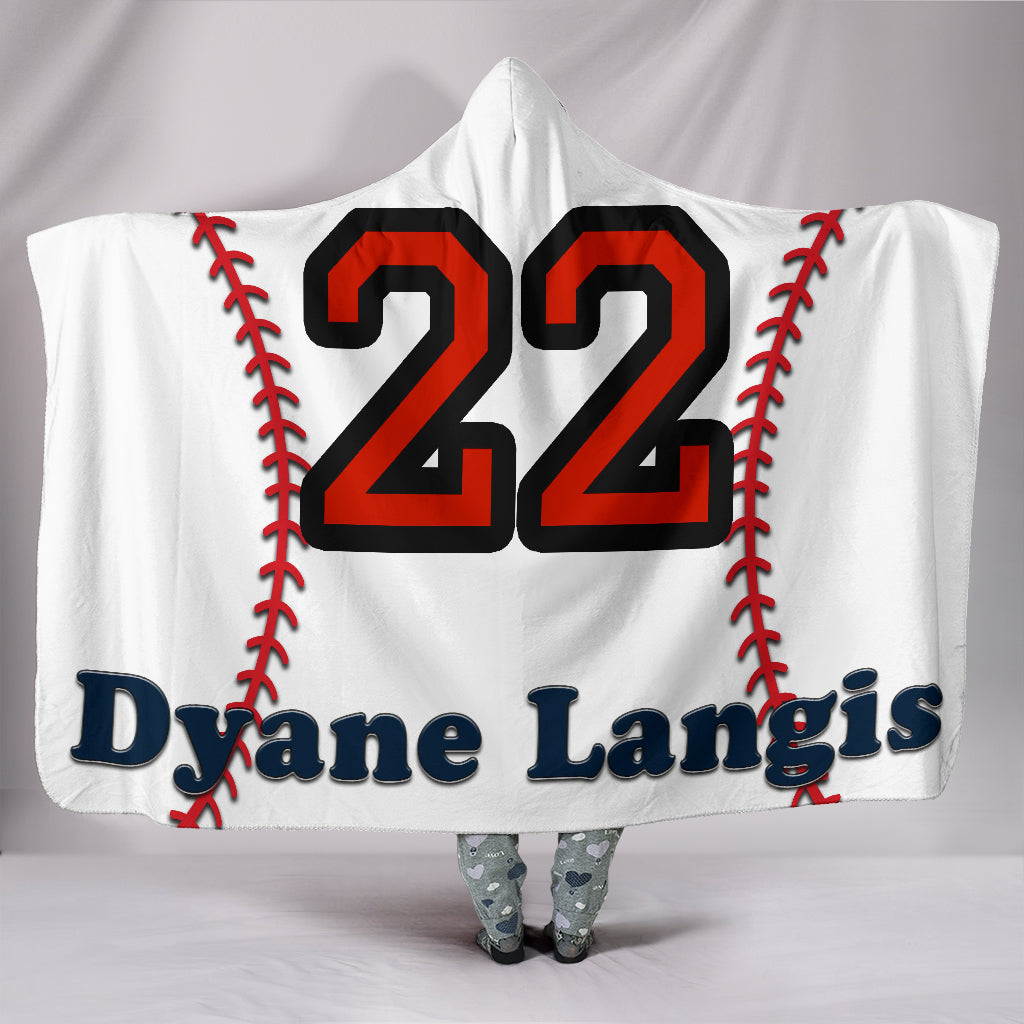 draft personalized hooded blanket 5569
