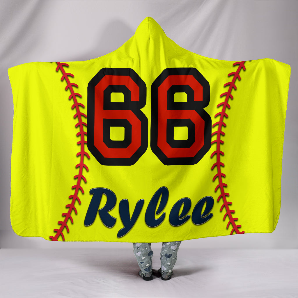 draft personalized hooded blanket 4450