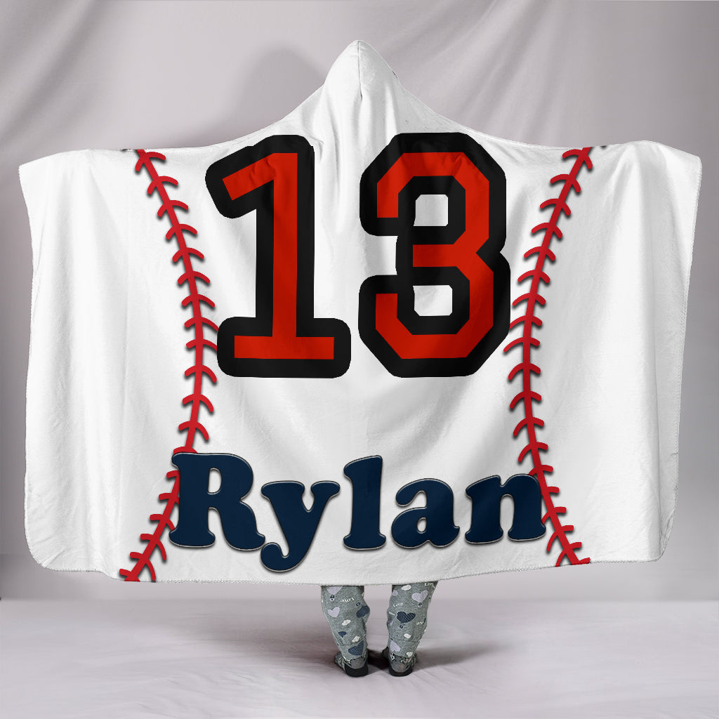 draft personalized hooded blanket 5543