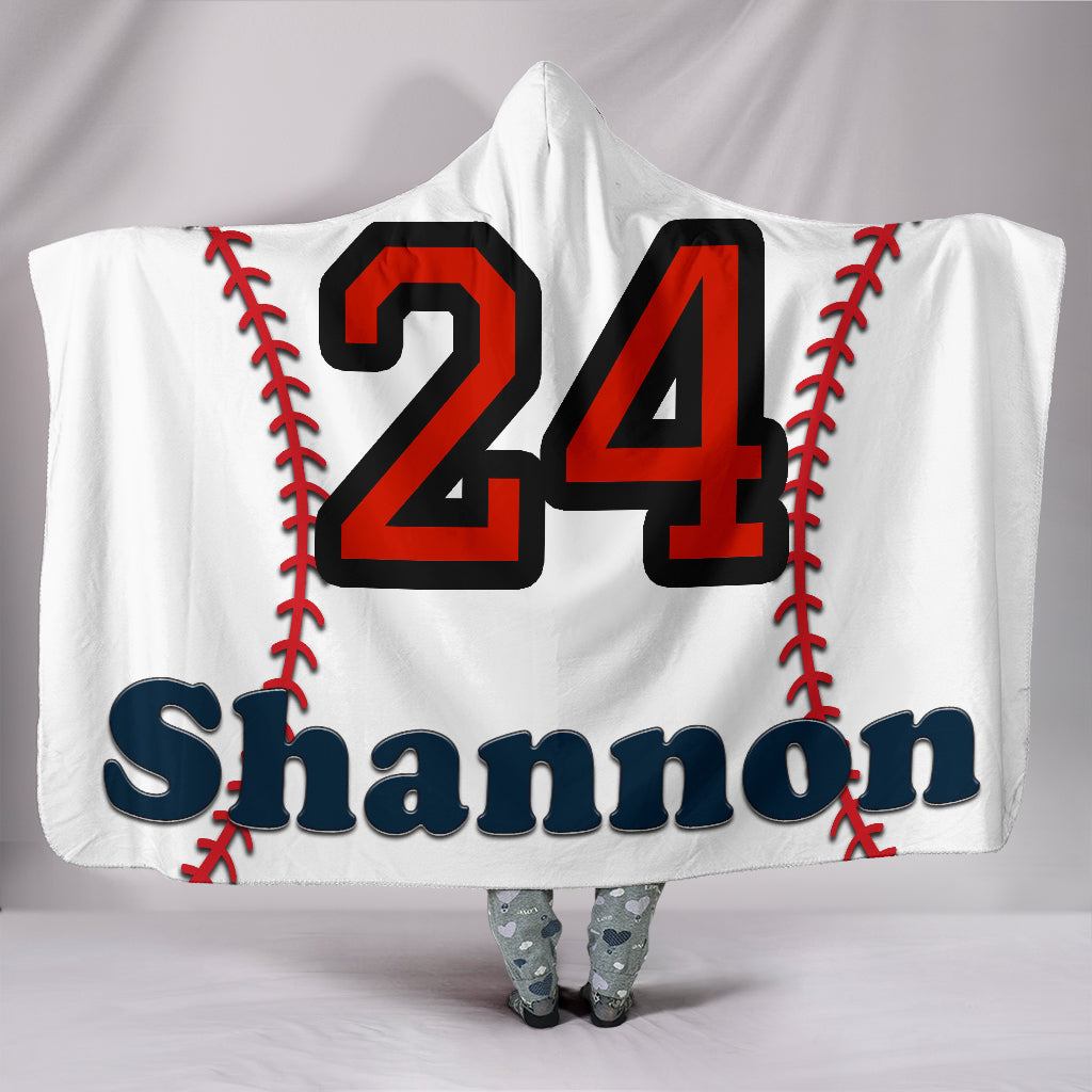 draft personalized hooded blanket 6534