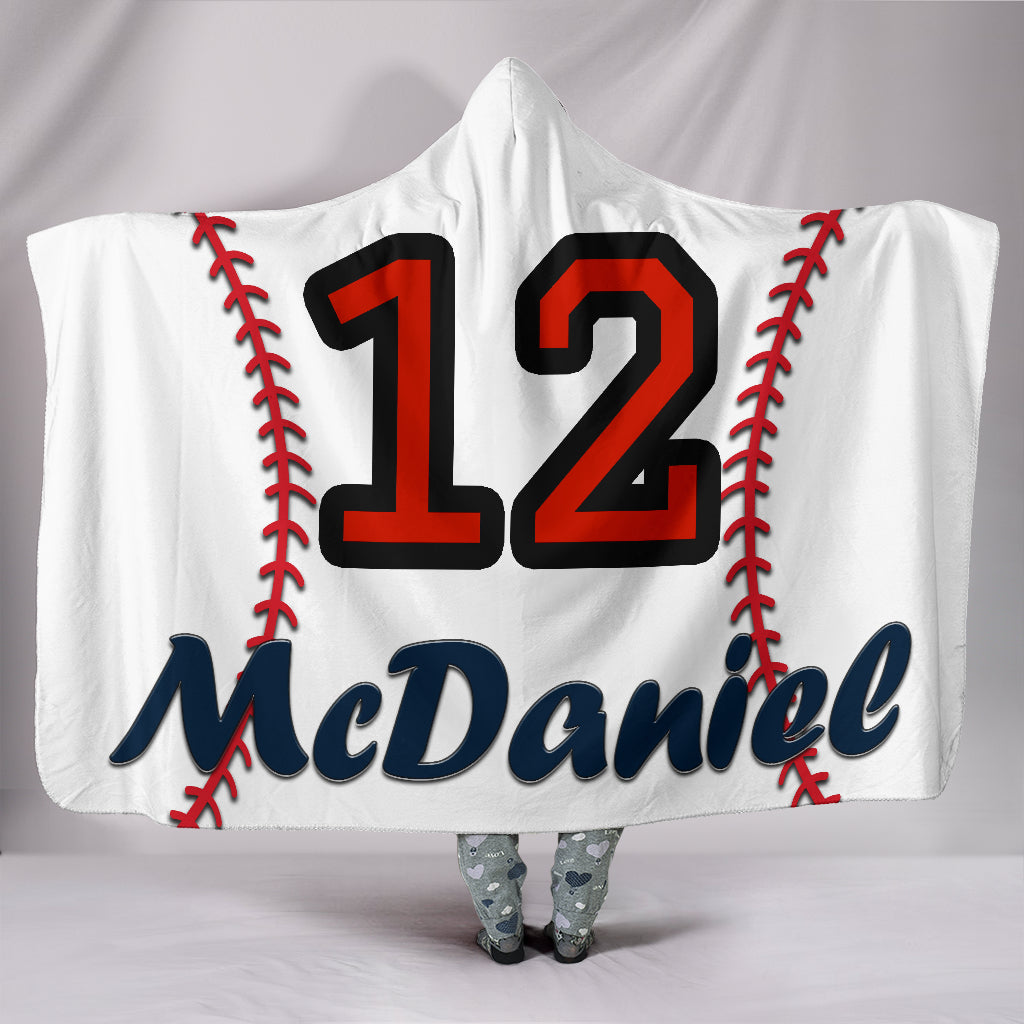 draft personalized hooded blanket 4451