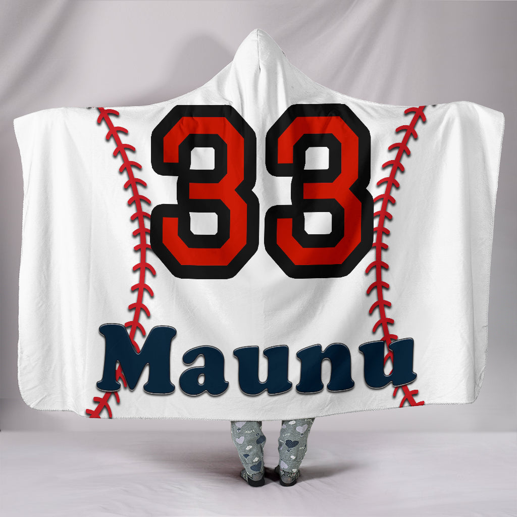 draft personalized hooded blanket 6609