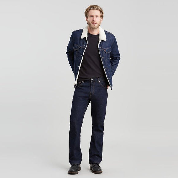 Levi's 517 Boot Cut Jeans - Traditional Rinse