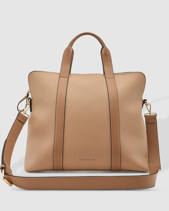Louenhide Rhodes Laptop Bag - Coffee