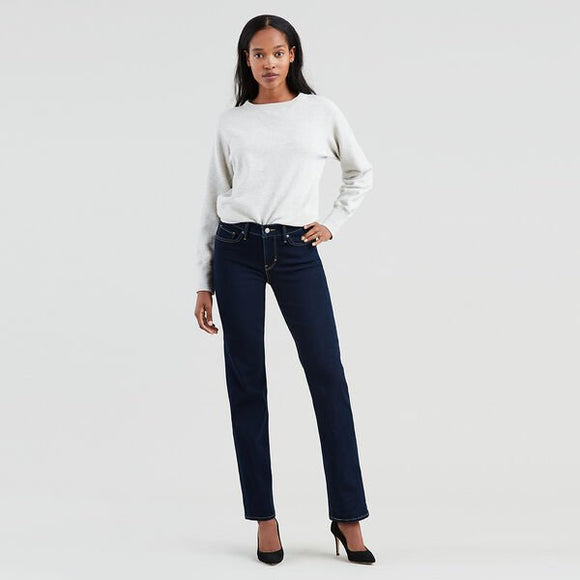Levis 314 Shaping Straight Jeans - Open Ocean