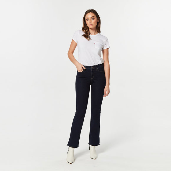 Levis 315 Shaping Bootcut Jeans - Open Ocean