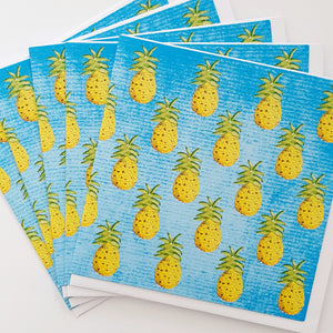 Alexander Gray Pineapple Greeting Cards - Pack of 5